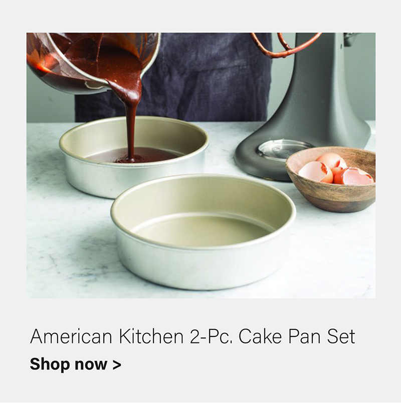 2-pc Cake Pan Set