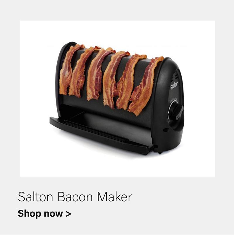 Salton Bacon Maker