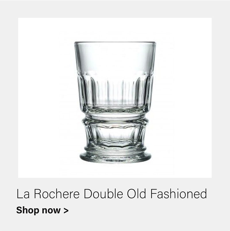 La Rochere Bistrot Double Old Fashioned