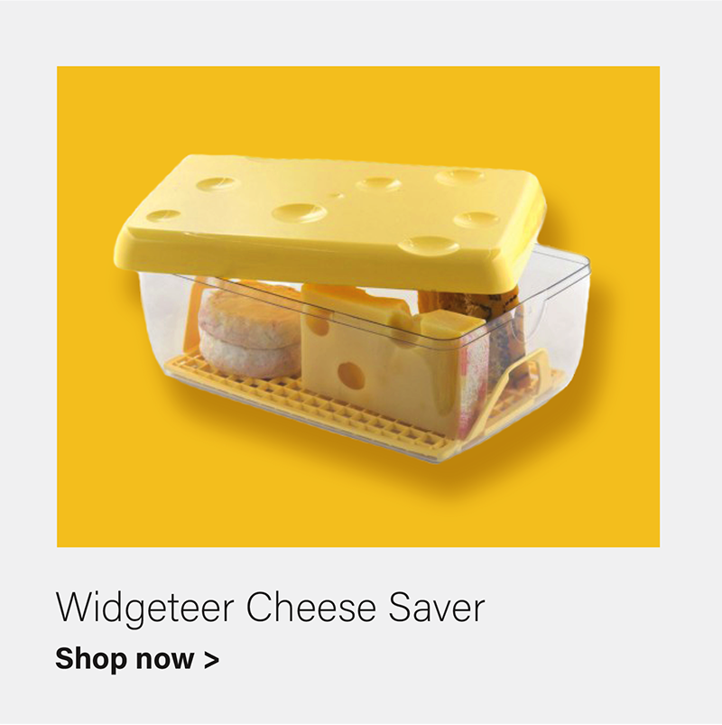 Cheese Saver with Bottom Drain Grid