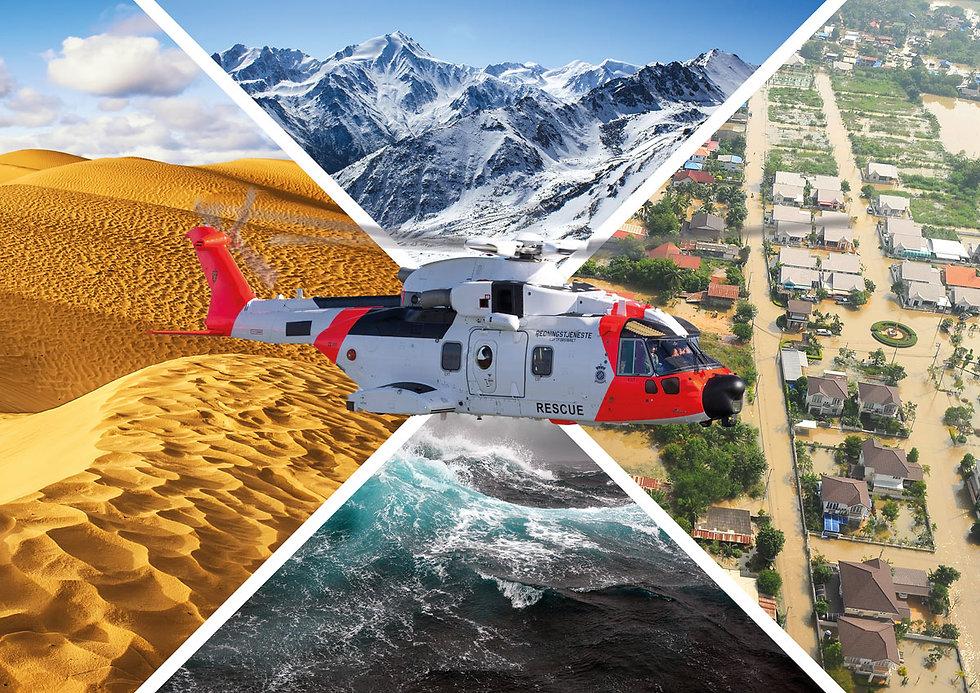 ARTEMIS Search and Rescue scenarios