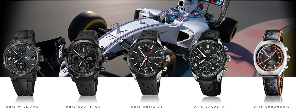 montre pour homme sport automobile oris suisse made