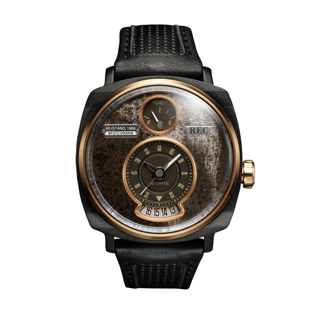 Montre REC Watch hommage Ford Mustang