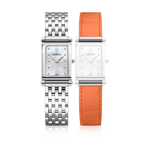 Coffret Michel Herbelin Antares - montre dame bracelets interchangeables