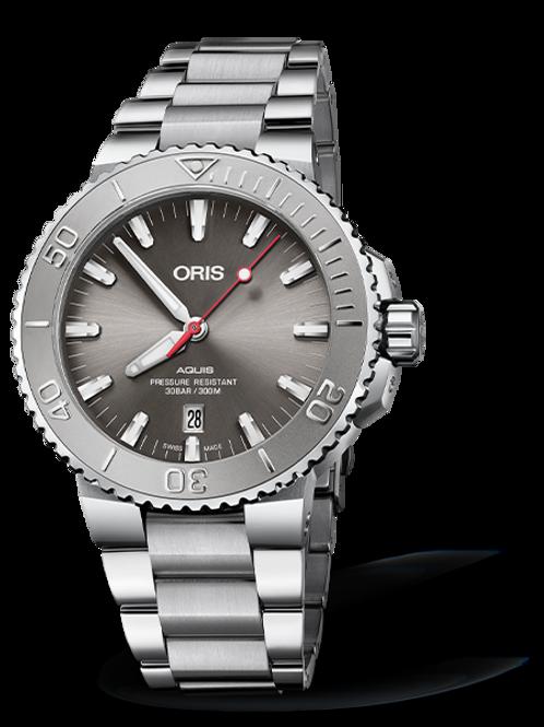 Oris Aquis Grey Date Relief