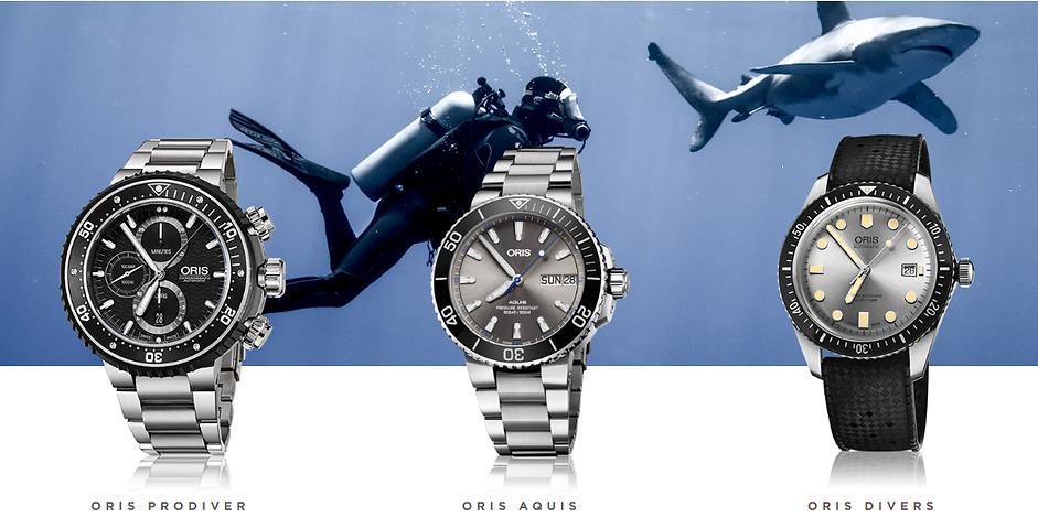 montre pour homme de plongé oris suisse made
