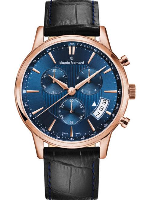 Montre chronographe classique homme - Claude Bernard
