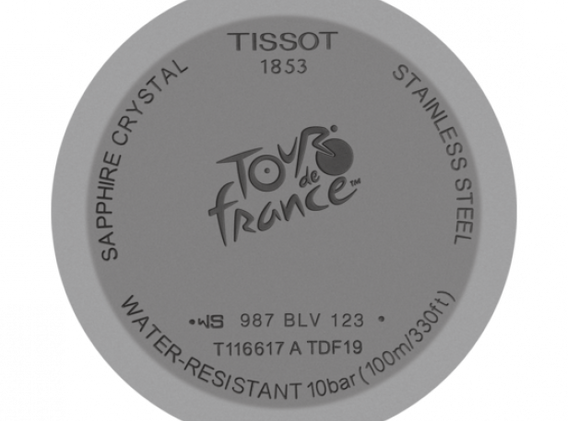 TISSOTCHRONO XL TOUR DE FRANCE 2019 SPECIAL EDITION
