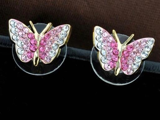L'art de porter des bijoux . Colorful CRISTAL jewelry »  Boucles d'oreilles en Cristal Autrichien