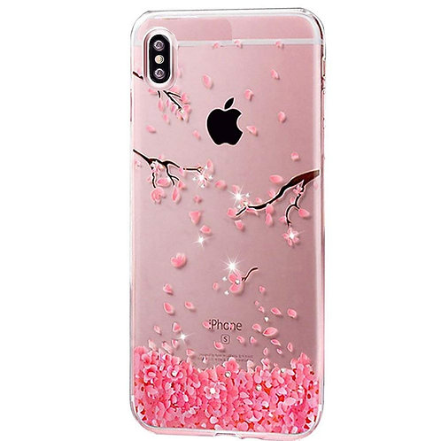 iPhone XS Max Coque Paillette Diamant strass Bling Cristal Souple Clear