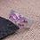 Thumbnail: Bague Anneau femme strass cristaux Swarovski Argent massif 925°