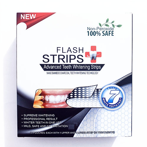 3D White Flash Strips Luxe Professionnel 14 Sachets ( 14 Jours ) White Strips