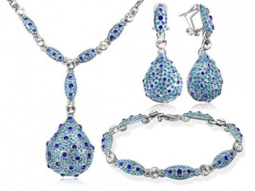 Bijoux rétro Colorful Days CRISTAL  jewelry »  Boucles d'oreilles en Cristal Autrichien #2019
