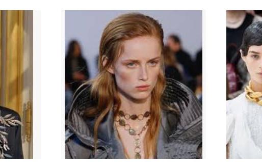 BIJOUX TENDANCE DES PODIUMS          Fashion Week : 30 bijoux inspirants repérés  sur les podiums