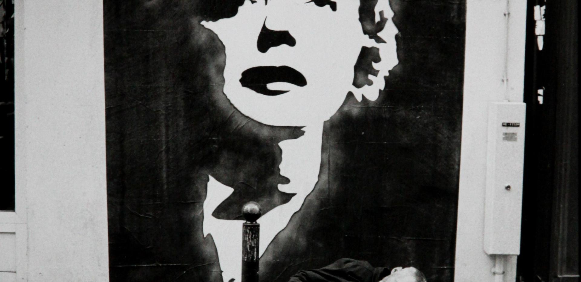 Michel Ginès - Piaf et le clochard 2007
