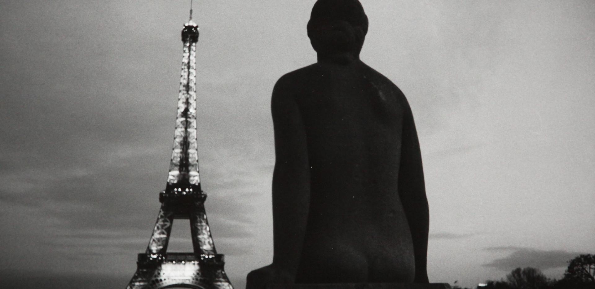 Michel Ginès - Tour Eiffel et statue 20