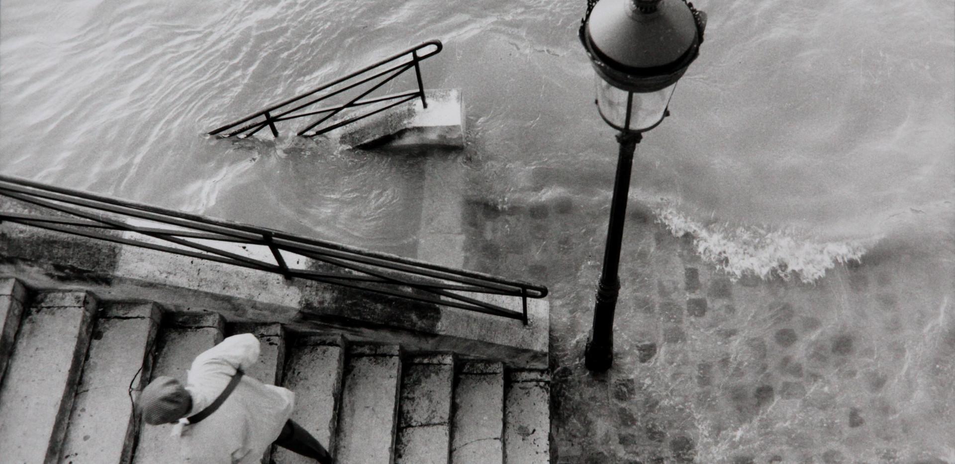 Michel Ginès - Inondations Ile Saint Lo