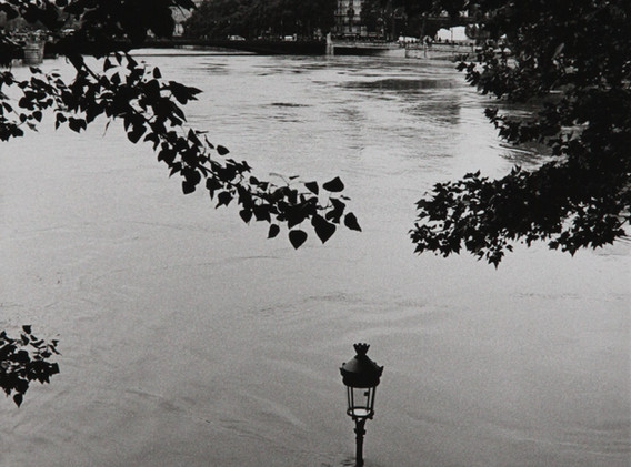 Michel Ginès - Inondations Seine lampad