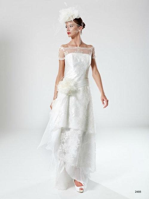 2488 - Vestido de Novia - Patricia Avendaño