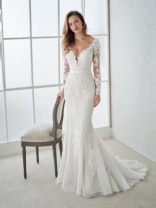 FAUNA - Vestido de Novia - WhiteOne