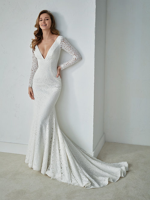 FAUSTINE - Vestido de Novia - WhiteOne