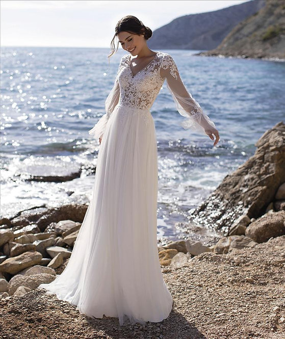 PERIWINKLE - Vestido de Novia - WhiteOne Essentials