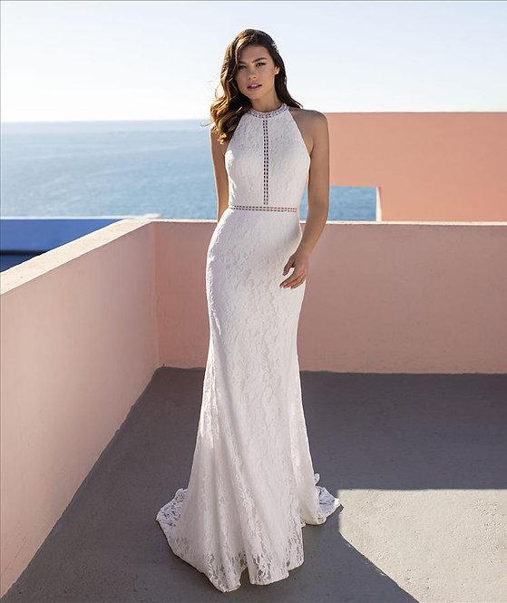 CHICORY - Vestido de Novia - WhiteOneEssentials