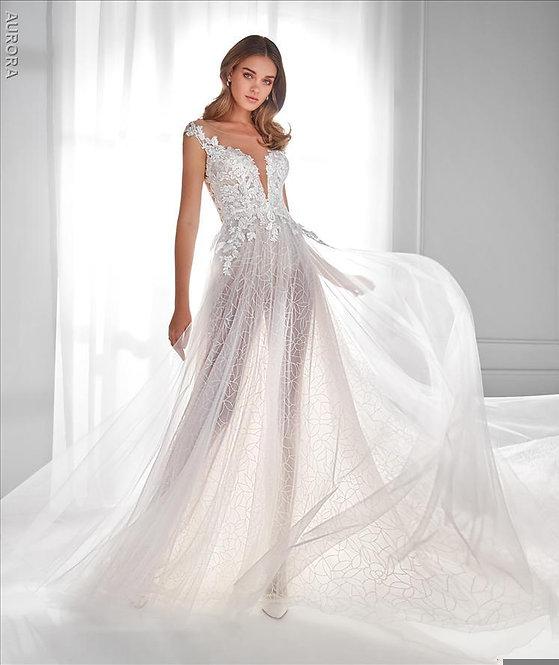 AU12151 - Vestido de Novia - AURORA by NICOLE