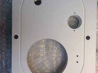 Aluminum Oxide Plasma Sprayed on Aluminum