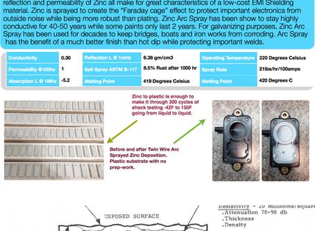 The many uses of Zinc Arc Spray!