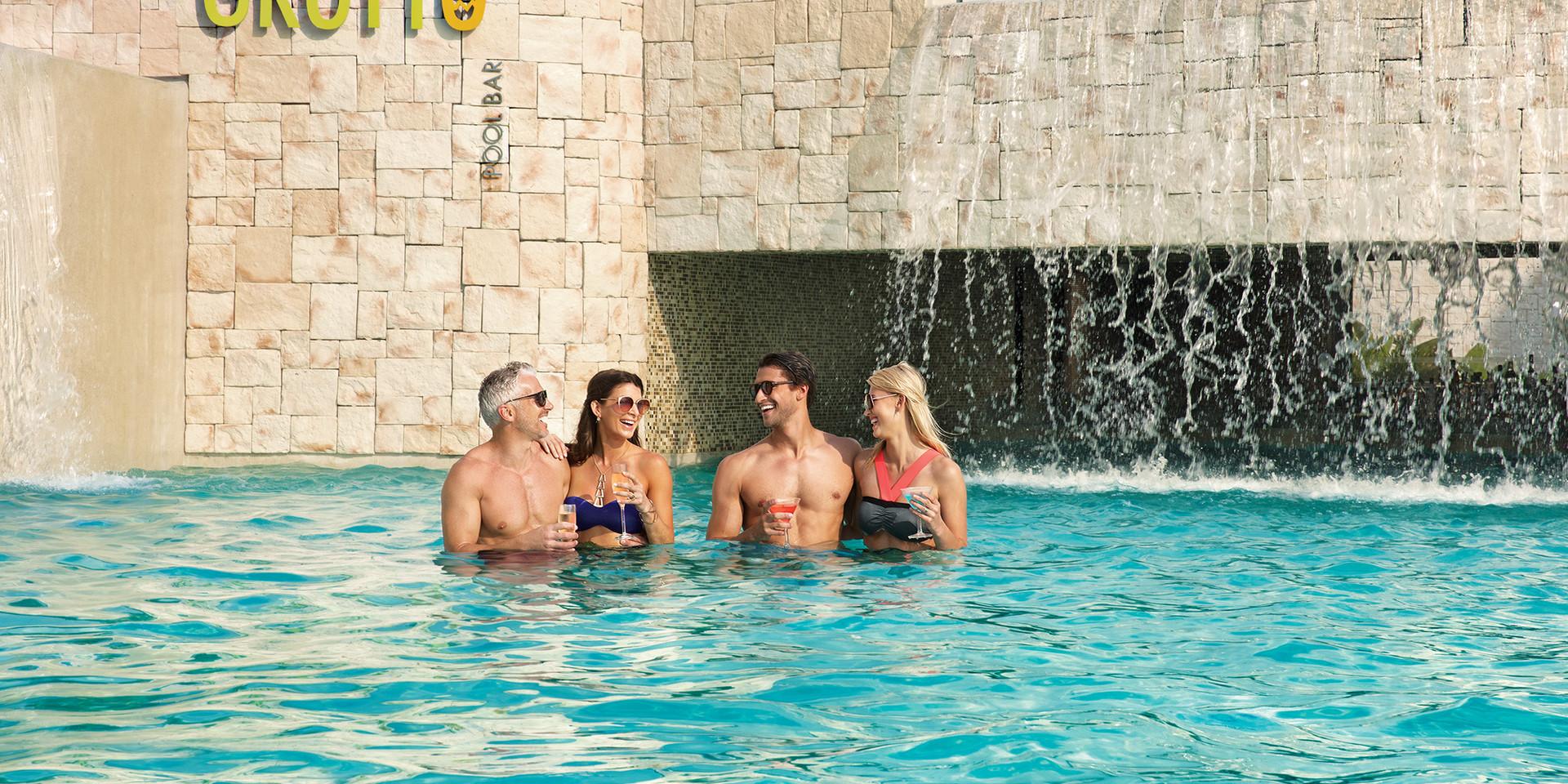 The Grotto | Swim-Up Bar