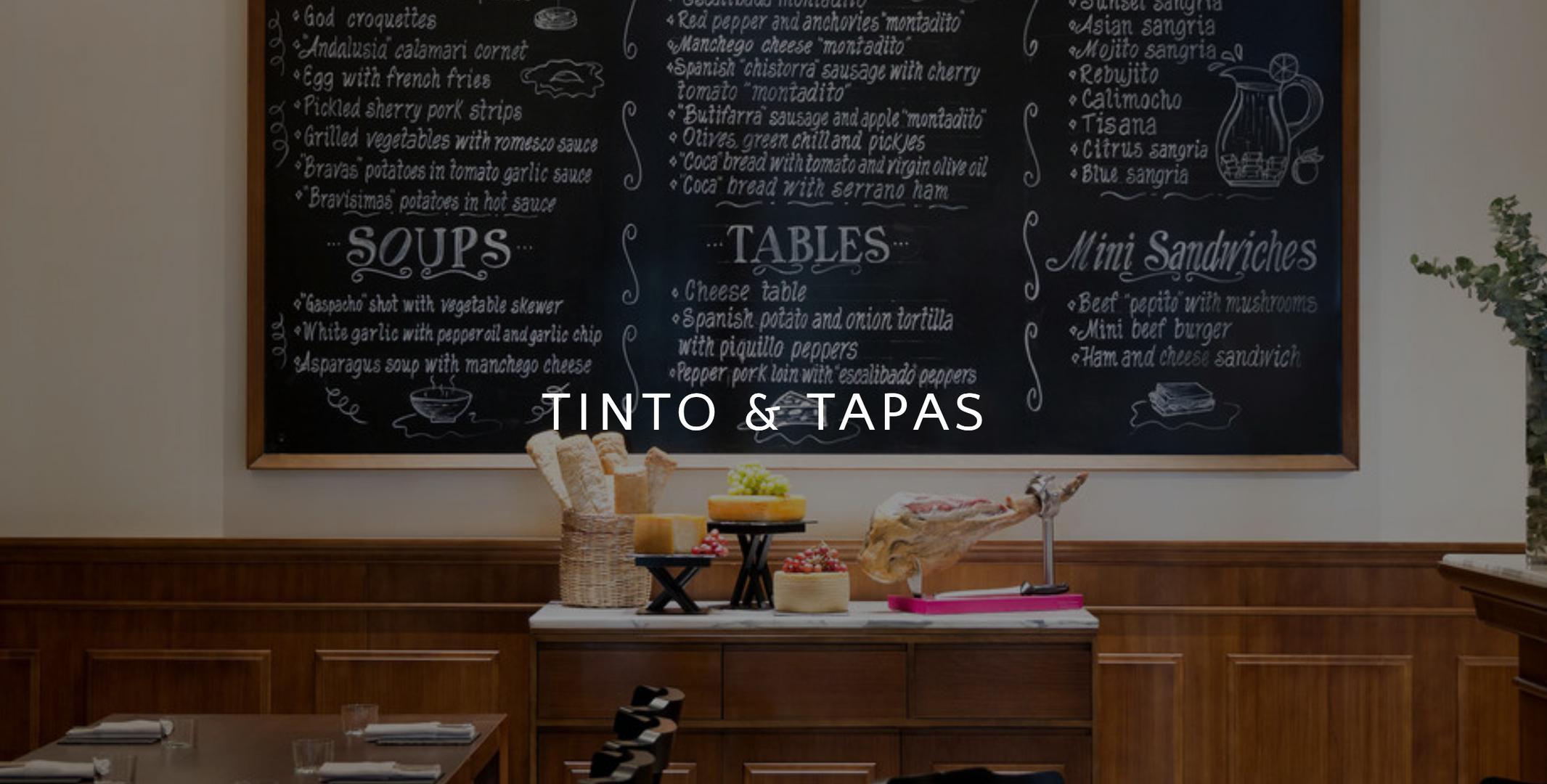 TINTO & TAPAS
