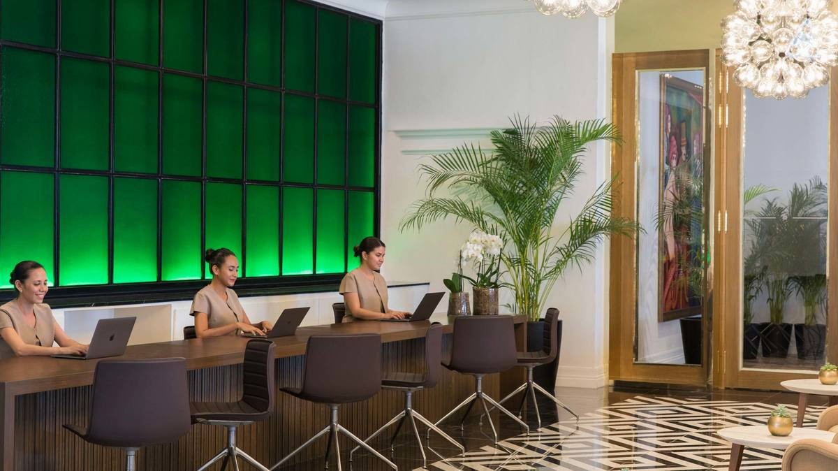 EXCELLENCE CLUB AMENITIES - CHECK IN