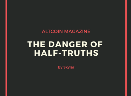 The Danger of Half-Truths: A Response to Martin Wolf's Cryptocurrency Op-ed