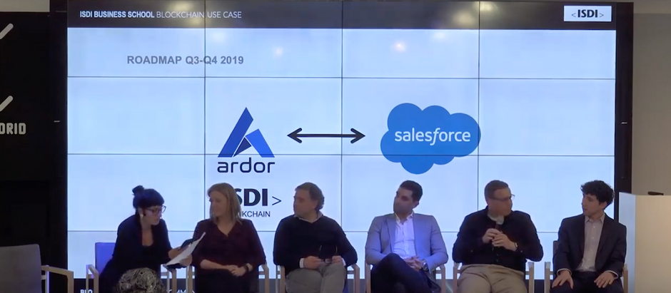 """Watch the Full """"Enterprise Adoption of Blockchain"""" Event from Madrid Now"""