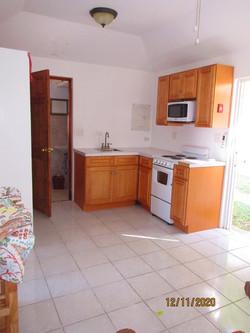 WAR111 kitchen living area