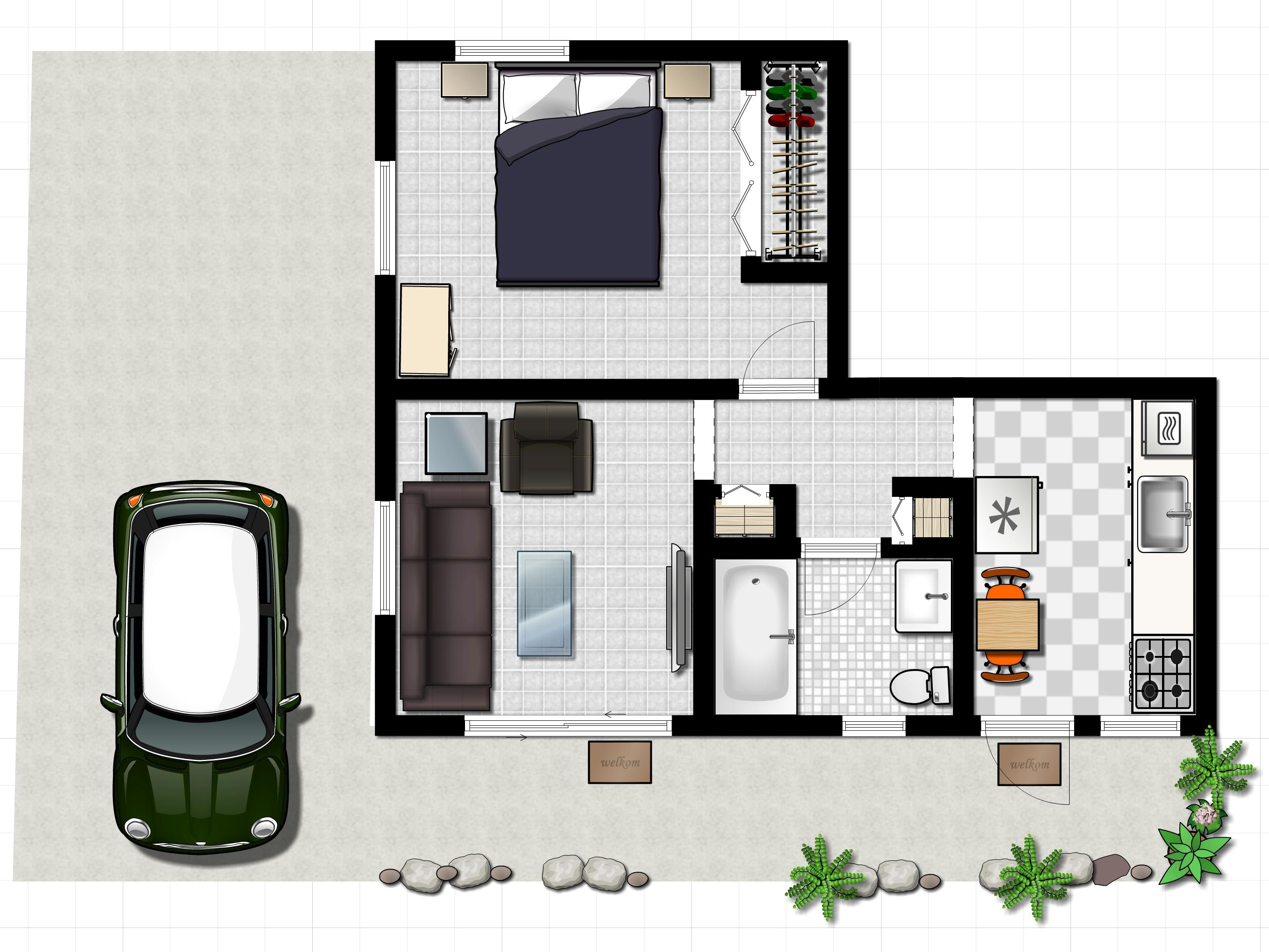1f WAR006 floor plan