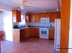 WAR110 kitchen-living area