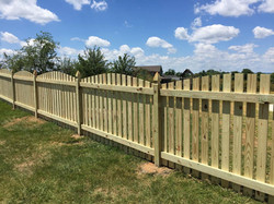 4' Spaced Picket w/ Arch