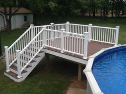 Composite Pool Deck