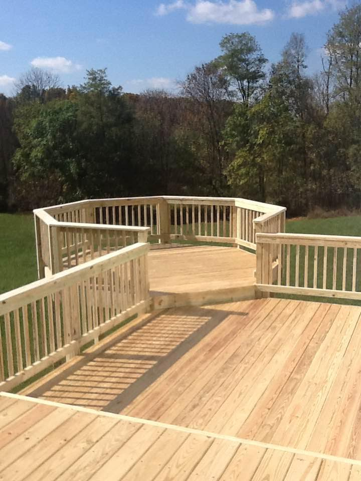 Wood Deck Bump Out