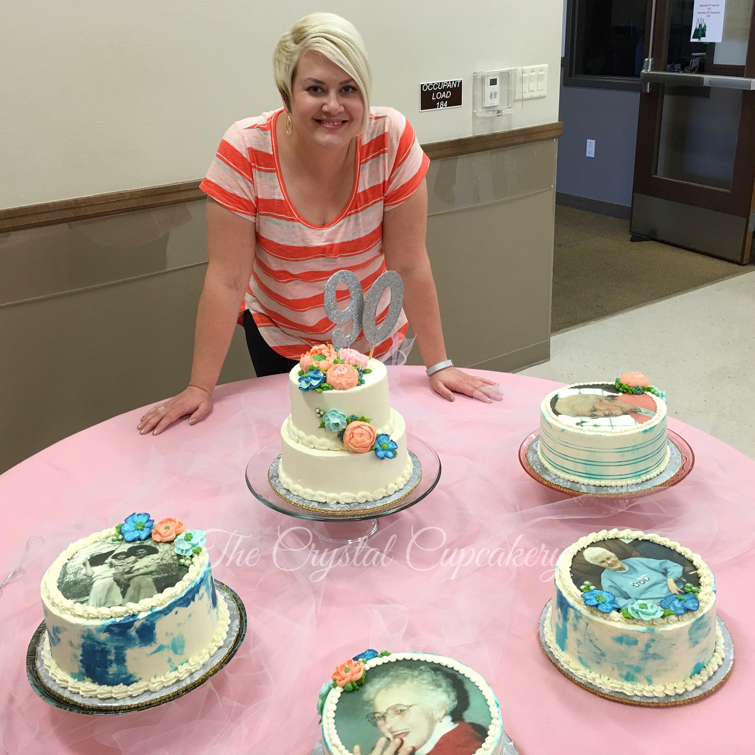 Crystal Frazier, the cake artist