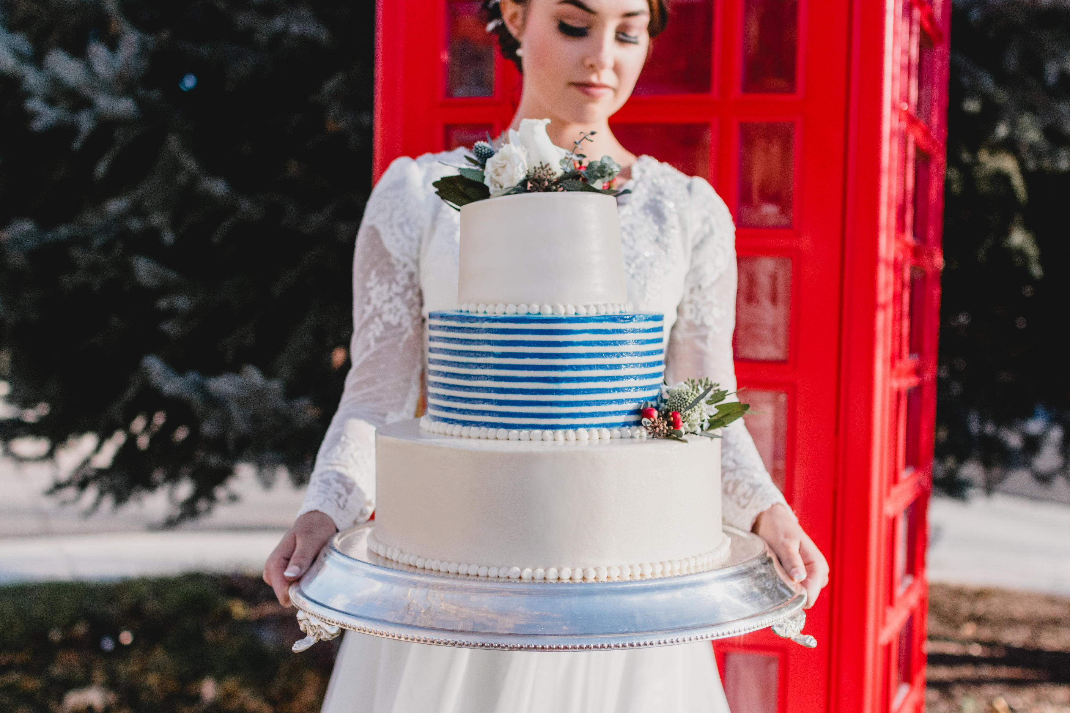 British Themed Wedding