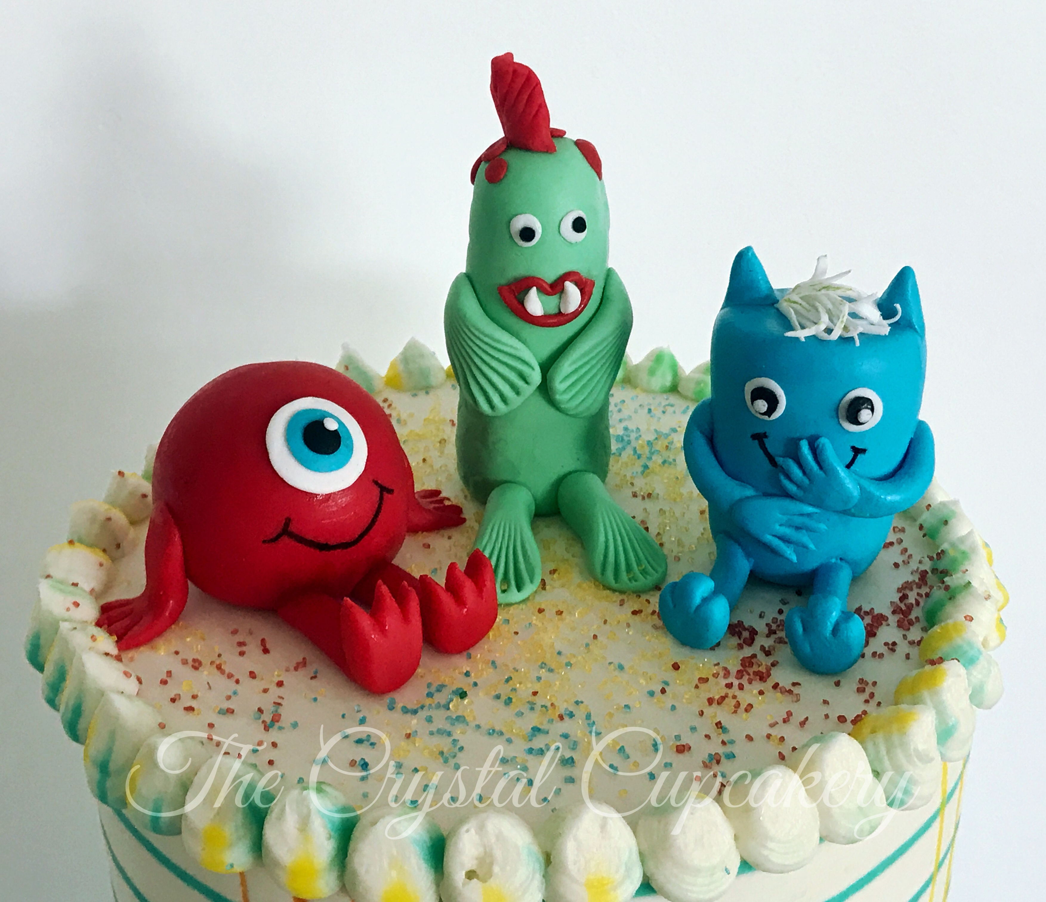 Fondant Monsters
