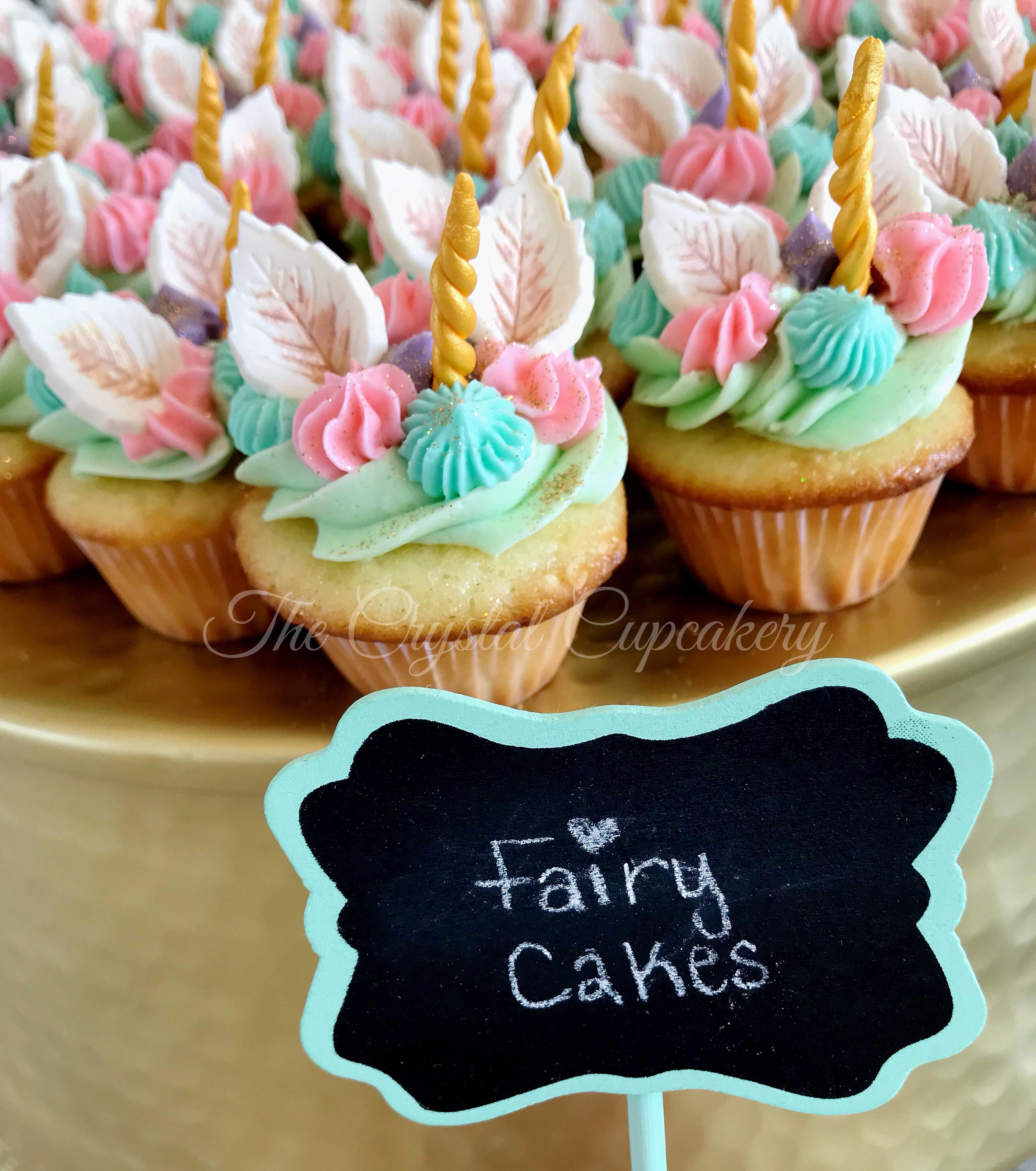 Llamacorn Cupcakes