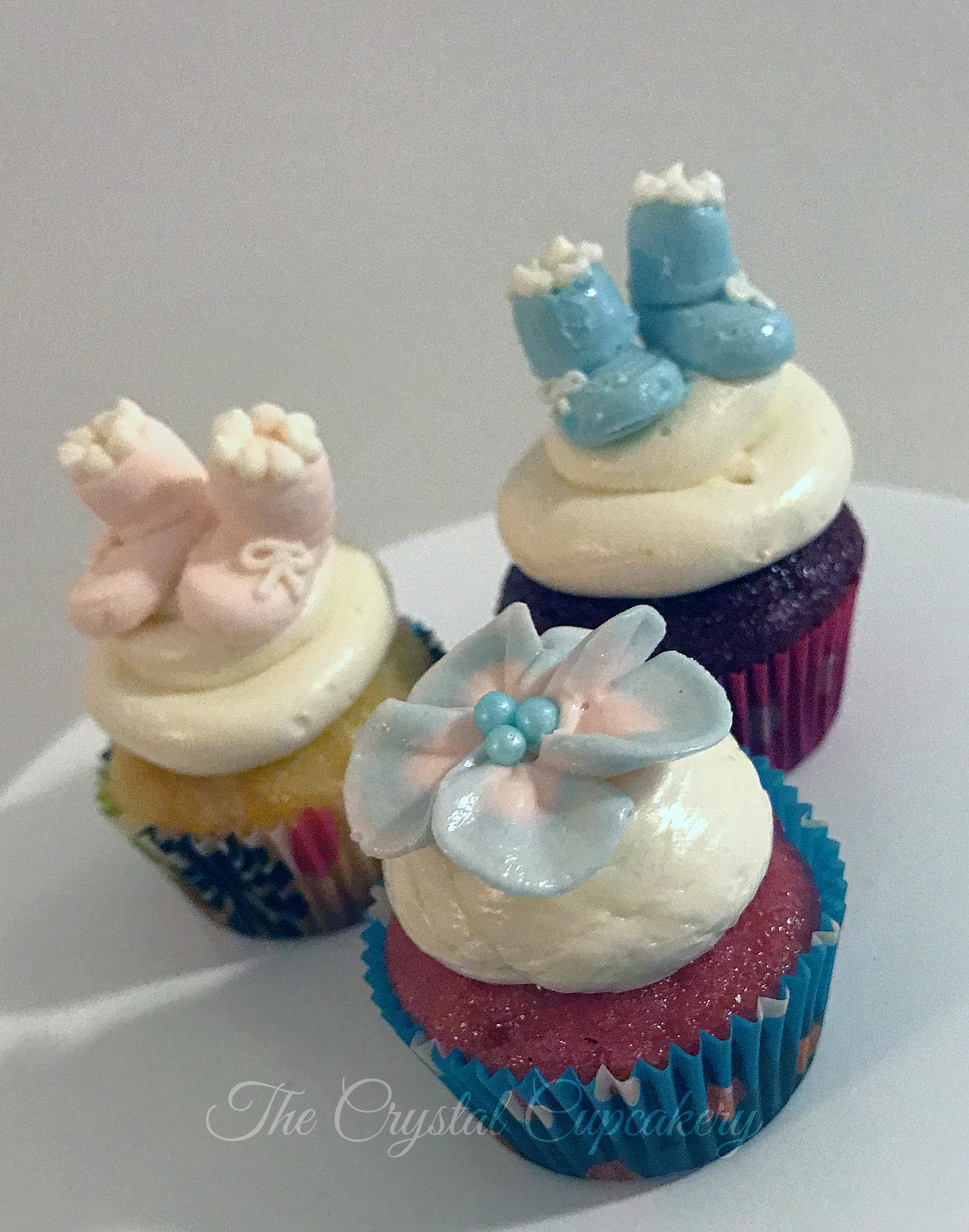Buttercream Baby Cupcakes