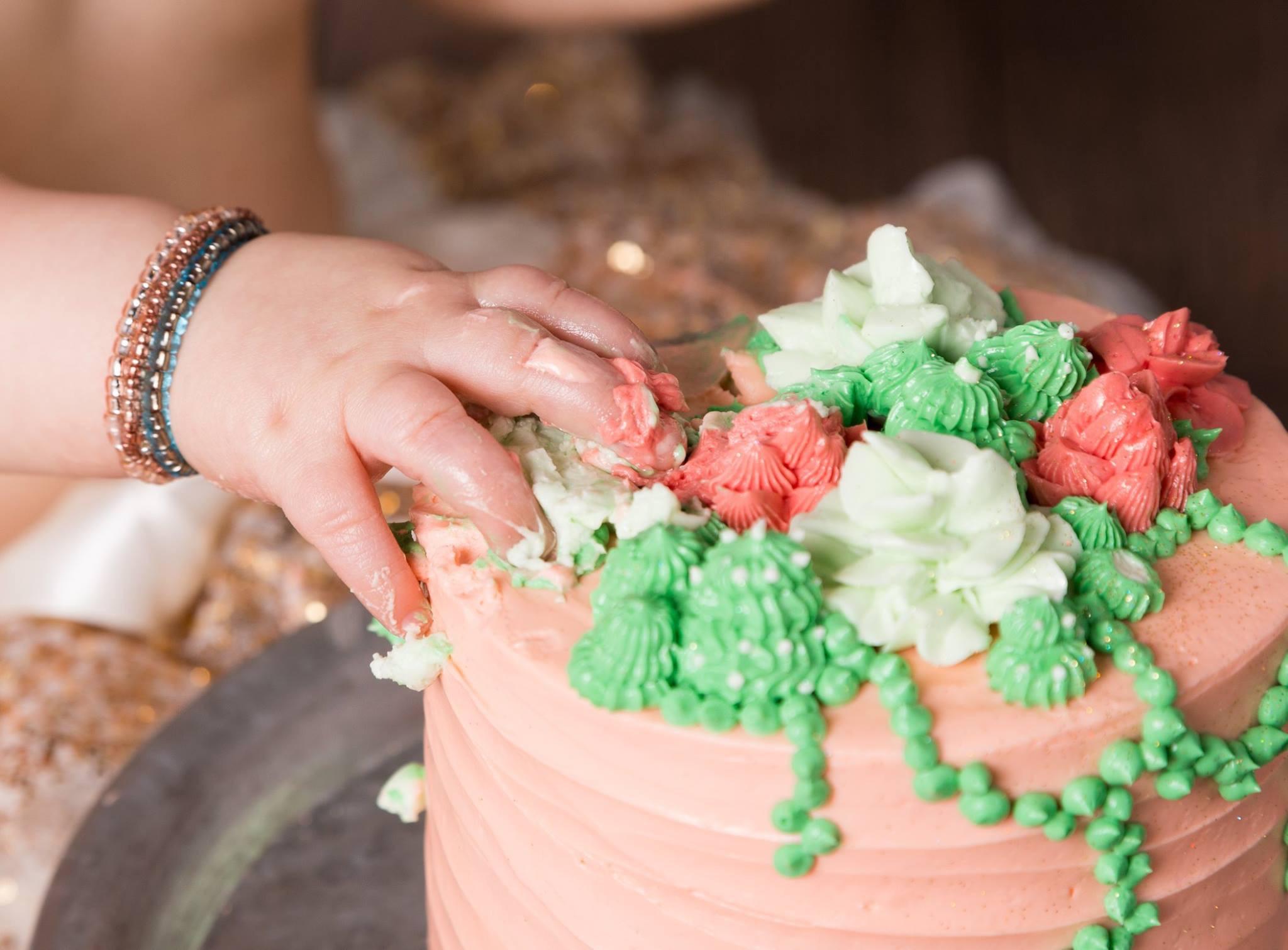 Succulent Smash Cake