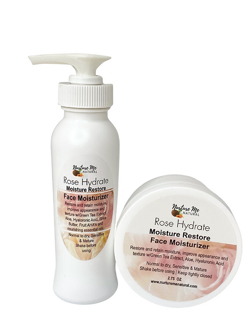 Rose Hydrate Moisture Restore Face Moisturizer