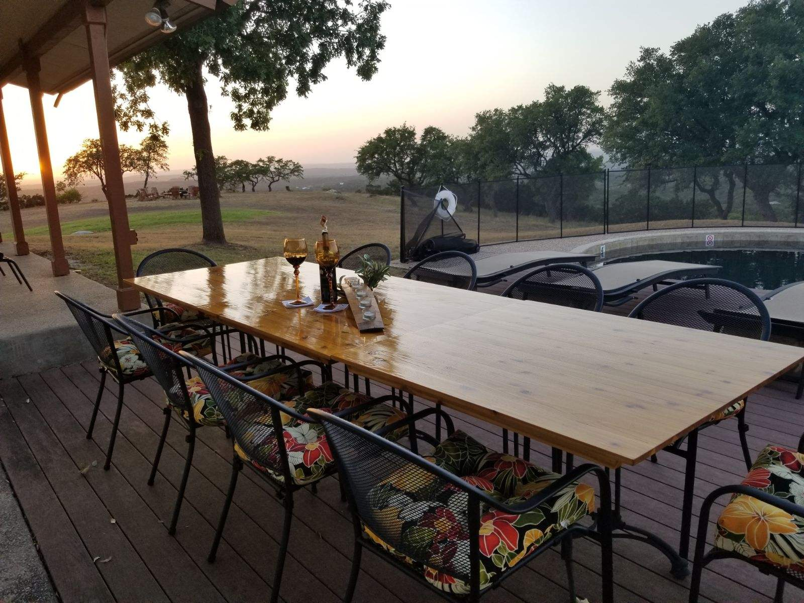 Cedar Table Tops