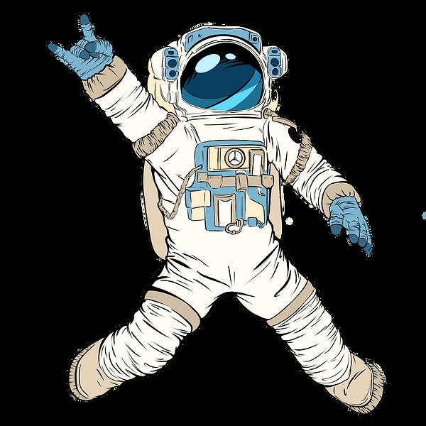 —Pngtree— rock astronaut illustration po